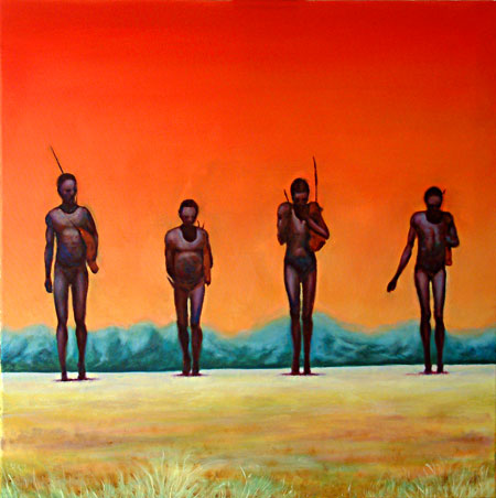 Out of Africa painting by Ivor Tymchak