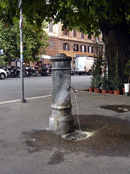 Water fountain in Rome