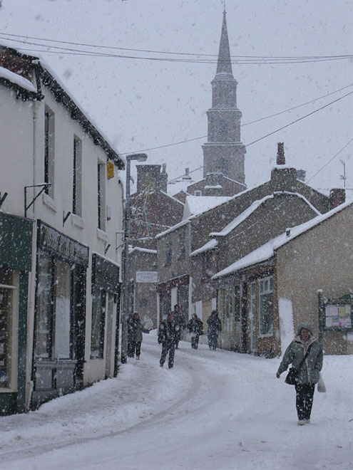 Horbury in the snow 1