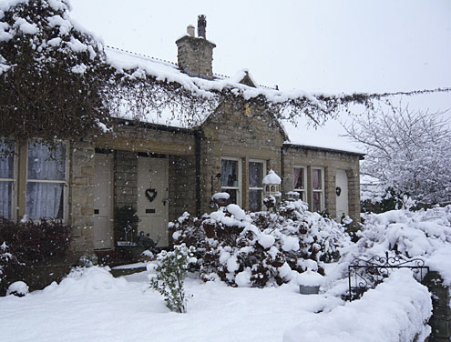 Horbury in the snow 3