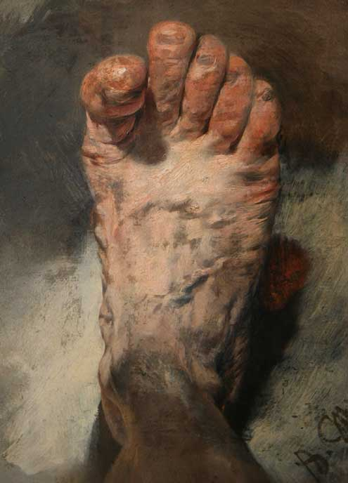 Menzel foot