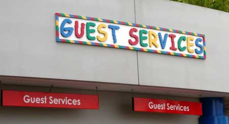 'Guest services'