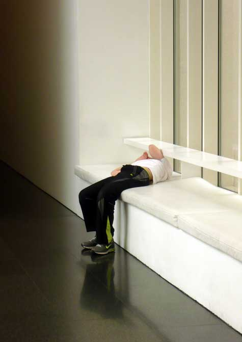 My son is underwhelmed by MACBA