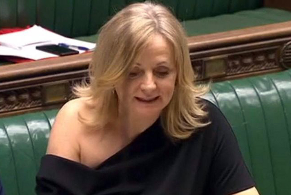 Tracy Brabin in the House of Commons